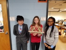 Seventh Graders Build Bridges in Earth Science