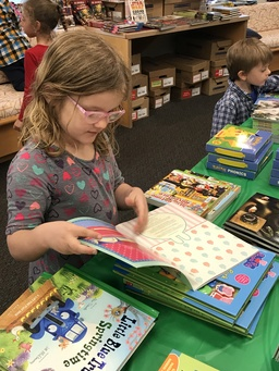 The 16th Annual Scholastic Book Fair is a Great Success