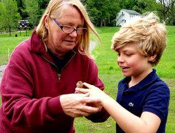 Elementary Students Learn Outdoors